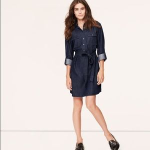 LOFT denim dress